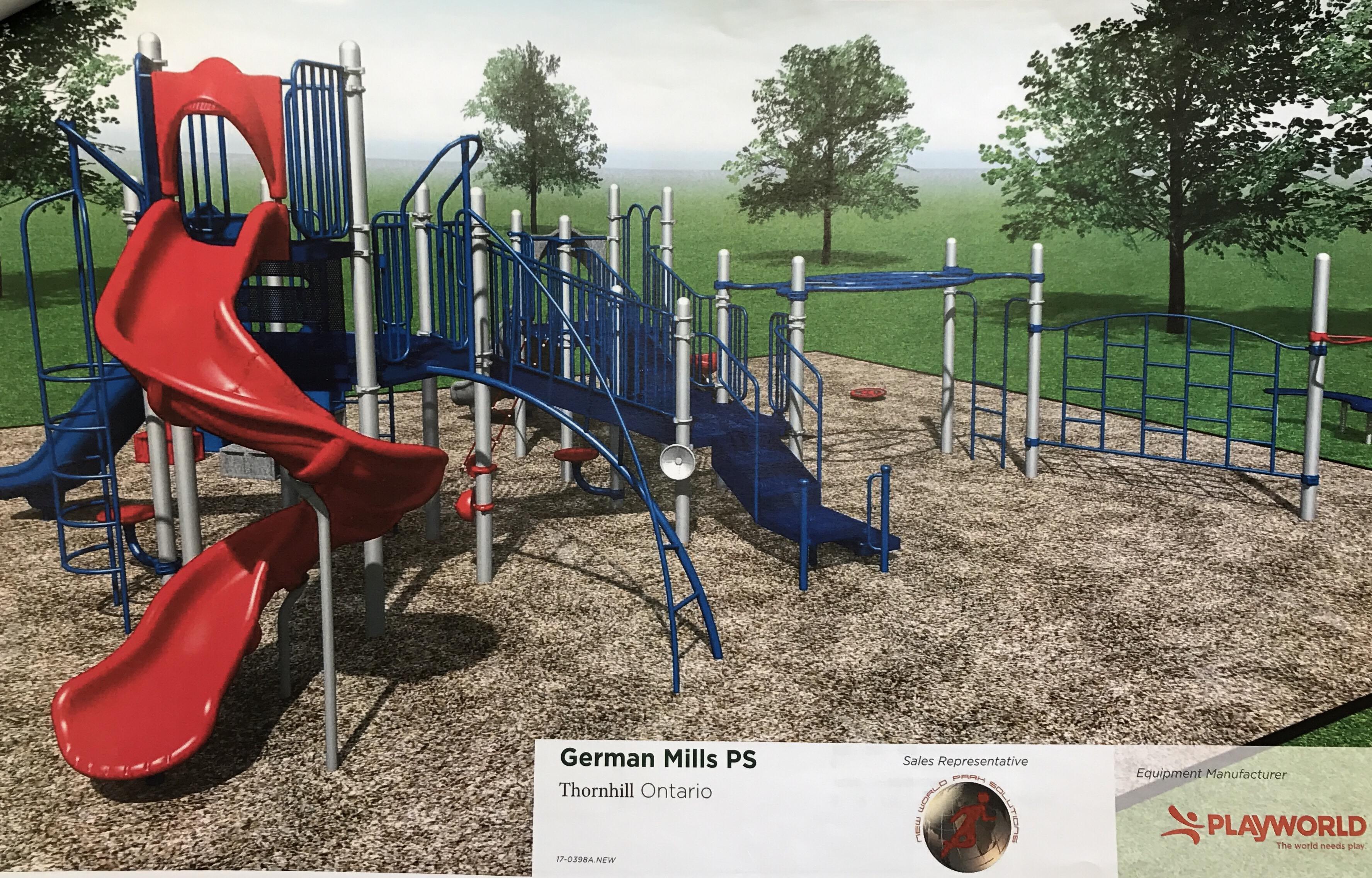 Playground Update German Mills Public School