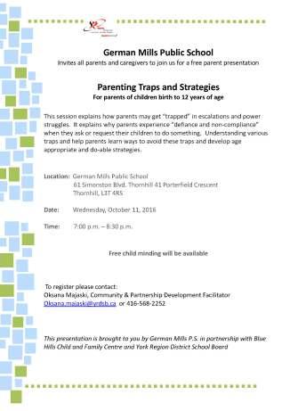Parenting Traps Oct 11