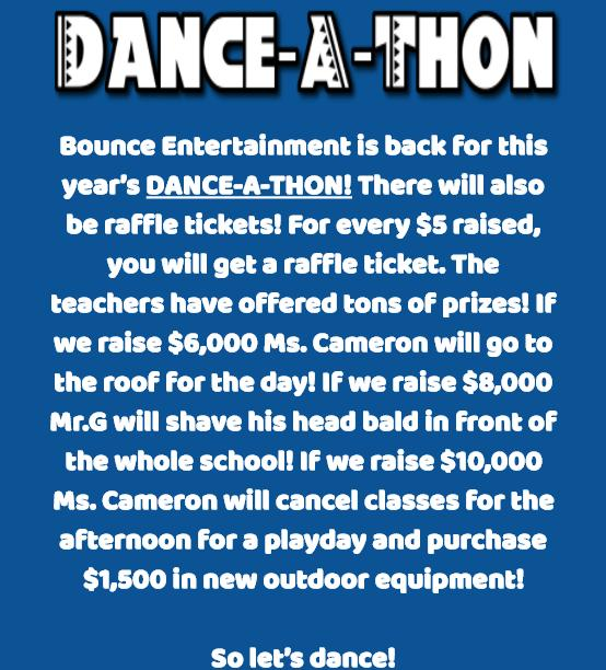Dance announcement