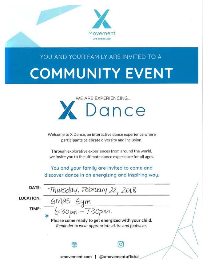 XDance Family Night - Feb 22