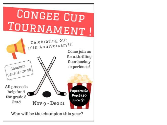 congee cup poster 2